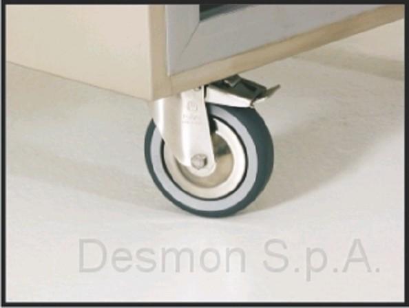 Desmon Toepasbare wielen koel/vries 1400 L