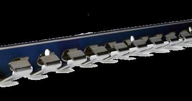 Strookgordijn ophangsysteem